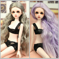 BJD SD Girl Doll Beautiful Blank Body DIY PVC Material Handmade Girls Kid Gift