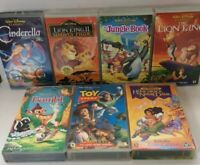 DISNEYS VHS TAPE Bundle The Classics Toy Story 1, Bambi,lion King ,jungle MORE