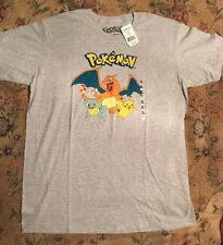 NWT Men's Pokémon Trio T-Shirt Size XL