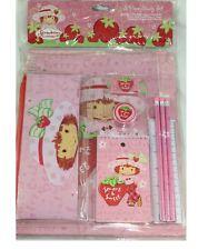 2006 Strawberry Shortcake 11 pieces Stationary set Pencil case Notebook NEW