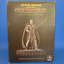 Star Wars The Old Republic Collectors Edition Darth Malgus Statue