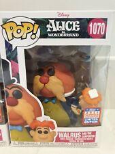 Funko Pop! Walrus And The Carpenter 1070 Alice In Wonderland Disney Damaged