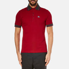VIVIENNE WESTWOOD MAN KRALL POLO Shirt top red xl new tags £120 100% real