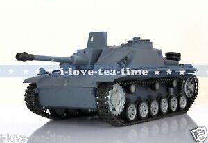 1/16 RC HengLong German Stug III Metal Road Wheels Customized Ver 3868-1 Tank