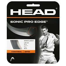 Head Sonic Pro Edge 17G Tennis String Anthracite (   Anthracite )