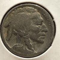 USA 1918 S Buffalo Nickel 5 Cent San Francisco Gute Erhaltung Selten #11113