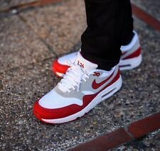 WMNS NIKE AIR MAX 1 ULTRA 2.0 LE TRAINERS UK 4.5 WHITE/RED RRP £115.00