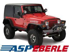 Bushwacker Verbreiterungs set 4-teilig Flat Fender Style Jeep Wrangler TJ 96-06