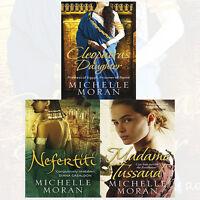 Michelle Moran 3 Books Collection Set(Nefertiti,Madame Tussaud,Cleopatra's Daug)