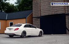 22x9 22x11 +45 Rohana RC22 5x112 Black Rim Fit Mercedes Benz S550 2014 Staggered