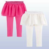 Tutu Skirt With Leggings Baby/Toddler Girls Oshkosh Princess Legging Pink White