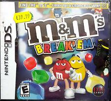 M&M'S BREAK 'EM NINTENDO DS 2007 -PAL-