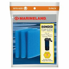 Marineland Bonded Foam Sleeve Rite-Size U Filter Media, 3 count  (Free Shipping)