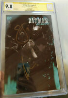 Batman Who Laughs #1 CGC SS 9.8 2x Sigs Snyder & Jock Variant A Edition