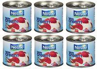 Nestle Table Cream - 7oz/225ml - Pack of 6 Cans - قشطة نستلة