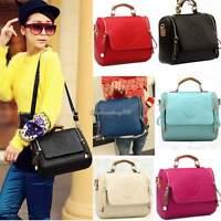 Women Lady Leather Shoulder Handbag Messenger Shoulder Bag Satchel Tote PU Purse