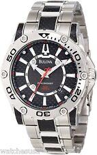 Bulova Men's Precisionist Champlain Black Carbon Fiber Watch 96B156