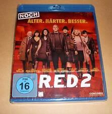 Blu Ray - R.E.D. 2 - Noch Älter. Härter. Besser. ( RED ) Bruce Willis - Neu OVP