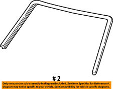FORD OEM E-350 Econoline Club Wagon Windshield-Reveal Molding 5C2Z1503144AA