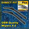 """Vauxhall Astra H MK5 04-11 Front Flat Windscreen Wiper Blades Direct Fit 18""""/22"""""""