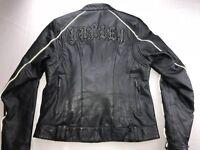Harley Davidson Women Temptress Bling Studded Leather Jacket Medium 97070-11VW