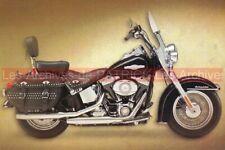HARLEY-DAVIDSON 1450 SOFTAIL HERITAGE CLASSIC FLSTC : Carte Postale Moto #0226