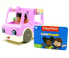 Fisher Price Little People Ice Cream Truck Girl, Preschool Vehicle w/ Figure