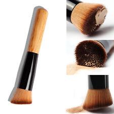 High Quality Cosmetic Stipple Fiber Powder Blush Brush Foundation Makeup Tool