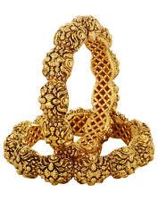 South Indian DISHI Fashion Bangles Kadas Bollywood Ethnic Gold plated Bangles