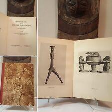 6-DAY SALE - WAS $$$ Tribal African Art book Kjersmeier 1936 Mask Statue