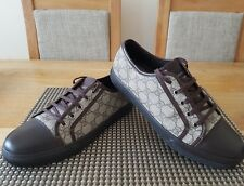 GUCCI GG LOGO SNEAKER TRAINERS MENS SIZE UK9.5 FIT UK10 GENUINE GOOD CONDITION