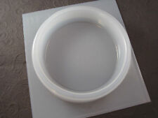 "Resin Mold Round Flat Base 4"" 10cm Coaster 60 Gauge Orgone Paperweight"