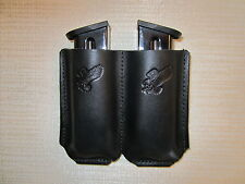 Double mag. holster, IWB & OWB AMBIDEXTROUS for all 45 caliber double stack mags