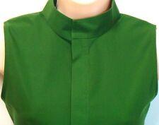 TALBOTS $59 NWT 10P Blouse Green Clover Sleeveless PETITE