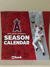 Angels Baseball 2016 Wall Calendar 4-4-2016 - SGA - New