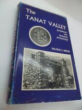 Die tanat Valley Old Vintage Eisenbahn industrielle Archäologie Buch Wilfrid Wren