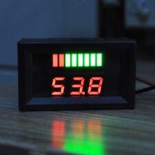 DC 6-100V LED Digital Display Voltmeter Volt Panel Tester For DC 12V Car Vehicle