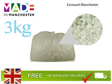 3kg Memory Foam Crumb | Bean Bag | Cushion/Pillow Filling | Stuffing