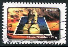 TIMBRE FRANCE AUTOADHESIF OBLITERE N° 414 / FETE DU TIMBRE /  L'EAU