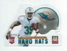 2013 Elite Rookie Hard Hats #69 Mike Gillislee Rookie Dolphins 295/299