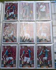 Match Attax - 2013/2014 - Aston Villa - 14x Cards - Exc Con - Free Post!