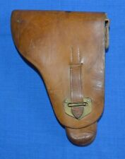 WW2 Bulgarian Army Leather HOLSTER