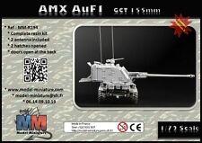 AuF1, AMX-30, french artillerie, Model Miniature,1/72