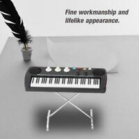 Exquisite 9cm Miniature Electronic Organ Model Instrumental Model Ornaments Gift
