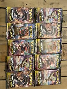 10x CHAMPION'S PATH TCG Booster Packs Factory Sealed Unweighed From Elite Box 2