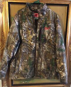 Milwaukee Mens Camo M12 Heated Gear Zip Up Jacket X-Large XL
