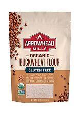 Arrowhead Mills Organic Gluten Free Buckwheat Flour 22 Ounce (P... Free Shipping