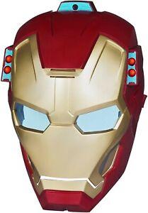Marvel - Iron Man 3 - ARC FX - Mission Mask Hasbro 2012 Fires Missiles Talks