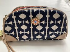 SPARTINA 449 WRISTLET Linen With Leather Trim