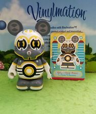 "Disney Vinylmation Park 3"" Set 1 Robots with Card Communication Bot"